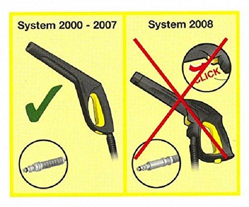 y compris mod/èles avec enrouleurs K/ärcher 2.641-959 Poign/ée pistolet pour nettoyeurs haute pression K2-K7