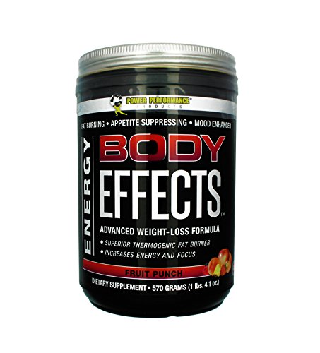 Body Effects + 1 FREE NUUN Hydration Drink - FRUIT PUNCH Power Performance Products - Pre Workout Weight Loss, Fat Burning, Energy Boosting, Appetite Suppressing, Mood Enhancing & Muscle-Defining