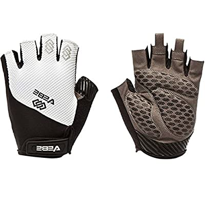 VEBE Mens/Womens Road Racing Biking Cycling Half Finger Gloves Anti-slip Padded Fitness Gloves