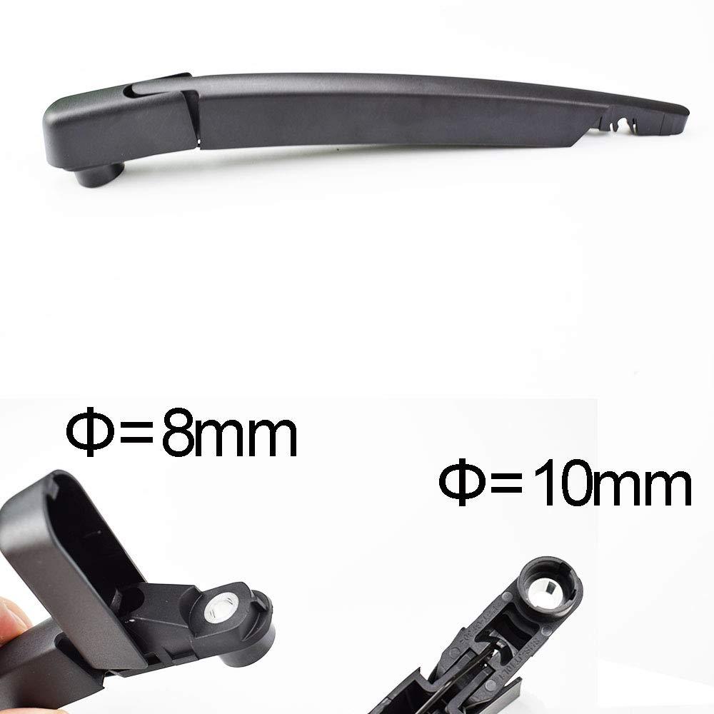 1 set Set di spazzole tergicristallo e braccio tergicristallo posteriore Xukey per Classe GLK X204 2008 2009 2010 2011 2012 2013 2014 2015