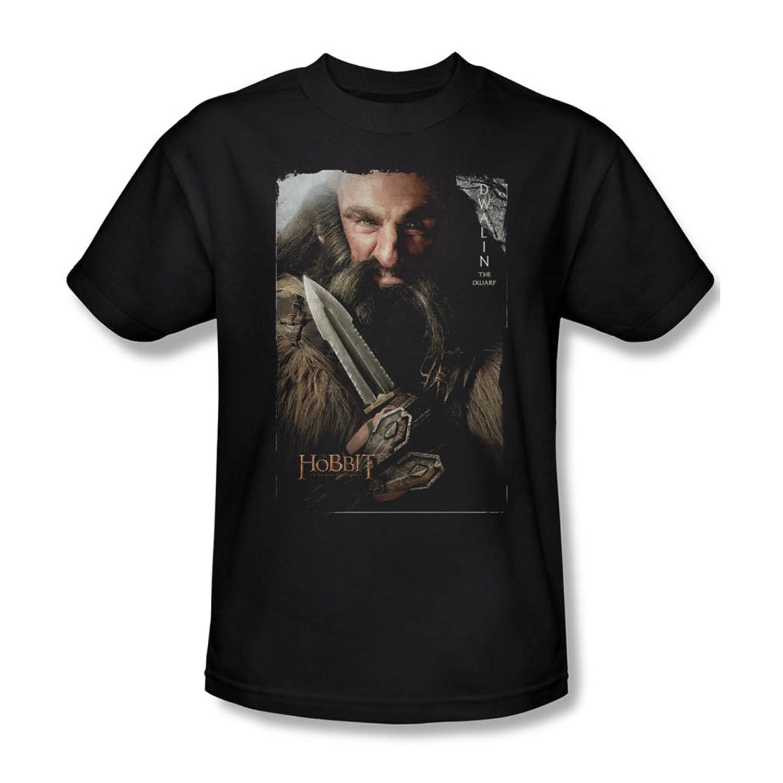 The Hobbit - Mens Dwalin T-Shirt In Black