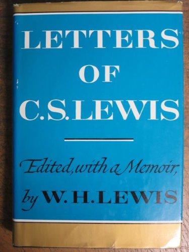 Letters of C.S. Lewis, Lewis, C.S.