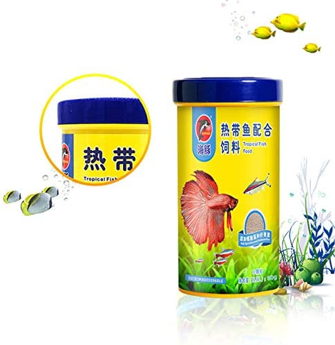 Alimentos para Peces goldfish Carp Guppies Alimentos 4