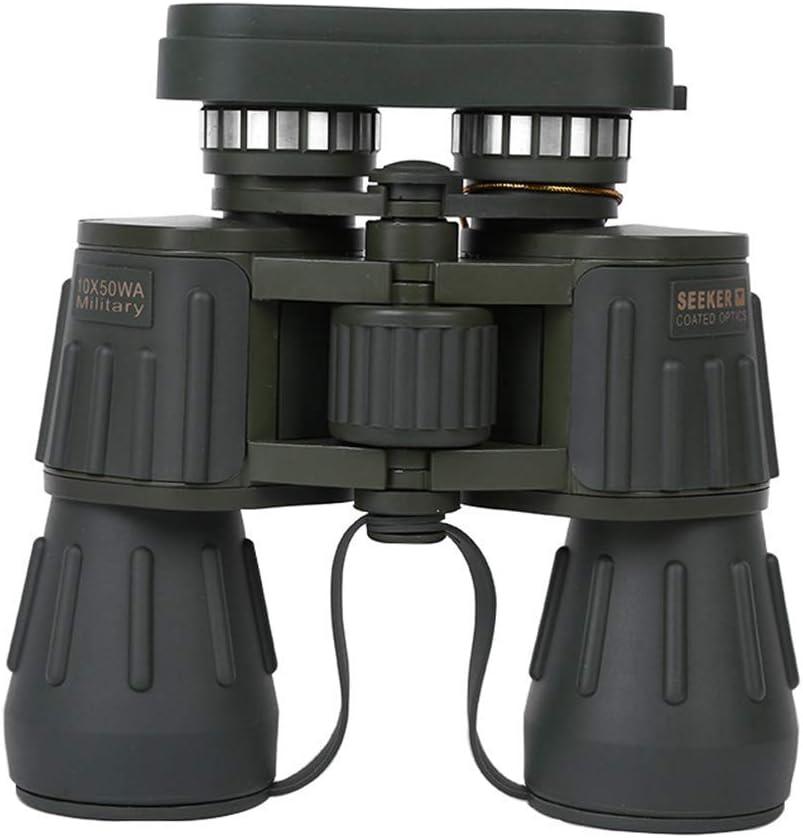 SYWJ Telescopio Digital HD Binoculares Al Aire Libre con Poca luz Visión Nocturna HD Material Verde de Alta Potencia Viaje al Aire Libre Reloj para Caminar Banda de Concierto