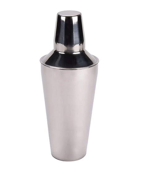 Coctelera Profesional 3 Cuerpos Desmontables (Filtro Vaso Cubrevaso y Cubreboquilla Medidor) Acero Inoxidable (750ml)