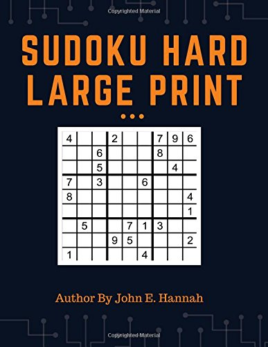 Sudoku Hard Large Print: 200 Challenging Sudoku For Exercise Your Brain ebook