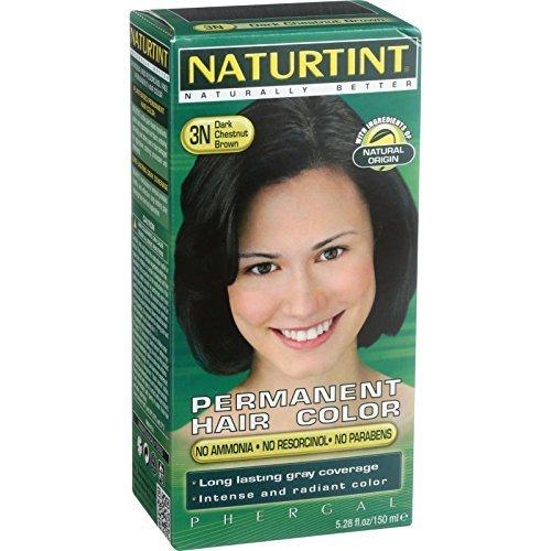 NATURTINT HAIR COLOR,3N,DK CHESTNUT, 5.28 FZ by Naturtint