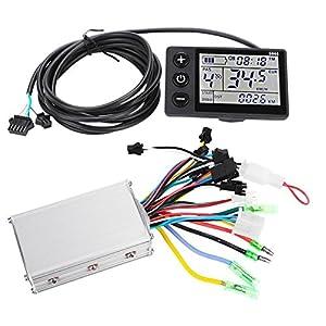 512hs%2BN WsL. SS300 Alomejor Motor Brushless Controller, Display LCD Impermeabile 24V-48V e Kit motorino di Controllo Brushless motorizzato