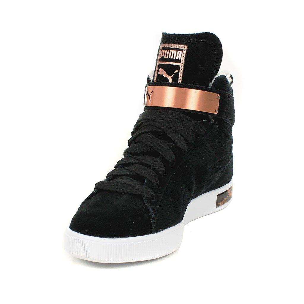 release date 1fd36 50ba7 Puma Pc Femme Mid Ww Wn s, Baskets Mode Femme - Noir (Black), 41 EU (7.5  UK)  Amazon.fr  Chaussures et Sacs