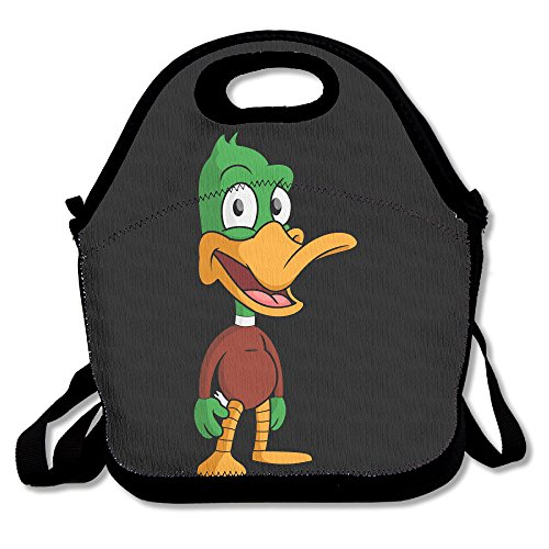 Cute Duck Unique Outdoor Picnic Lunch Tote Lunch Bag Mid-sized