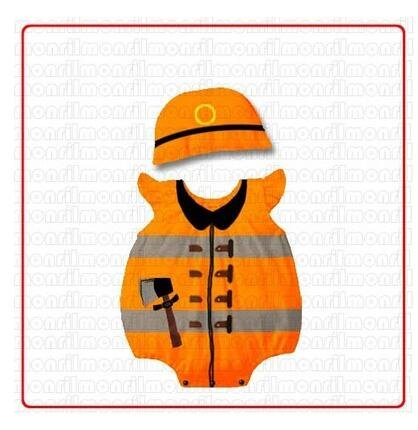 Months Beanie Animal Set Outfit Costume Piece Boy 3 12 One Girl Fireman Baby w17qx