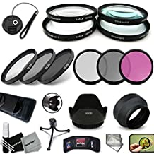 PRO 67MM Lens Filters + 67mm Lens Hood KIT for Canon EF-S 18-135mm f/3.5-5.6 IS / STM, Canon EF 35mm f/2 IS USM, Canon EF-S 10-18mm f/4.5-5.6 IS STM, Canon EF 100mm f/2.8L Macro IS USM Lenses