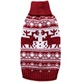 Printed Dog Clothes Soft Pet Cat Sweater for Small Medium Dogs Christmas Costume Chihuahua Clothes Puppy Hoodie Clothing