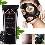 Blackhead Face Mask GARYOB Blackhead Mask Bamboo Charcoal Mud Nose Blackhead Remover Cleansing Peel Off Removal Mask Black Mud Face Mask 50g