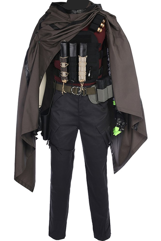 Wecos Halloween Costume Cable Nathan Christopher Charles Summers Outfit Large