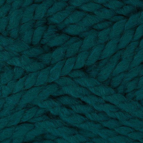 Bernat Wool Up Bulky Yarn 50701 Teal, - Wool Yarn Teal