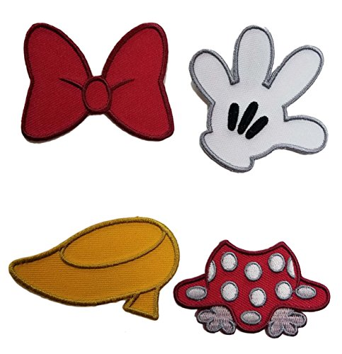 Disney Parks - Iron On Patch Set - Best of Minnie Mouse, Small