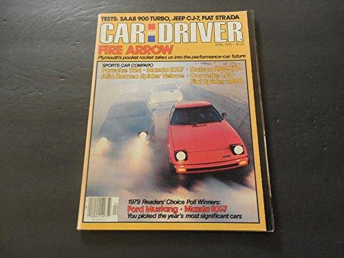 (Car And Driver Apr 1979 Saab 900 Turbo; Jeep CJ-7; Fiat Strada)