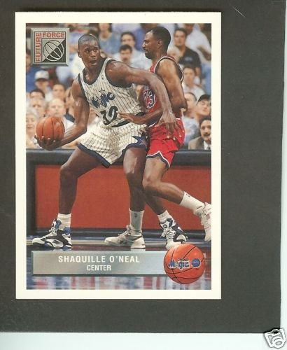 Amazoncom 1992 Future Force Shaquille Oneal Rookie Card