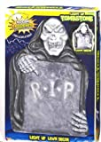 Forum Novelties Solar Light-Up Tombstone Decoration