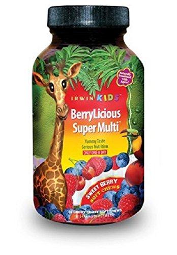 Irwin Naturals Berry Licious Super