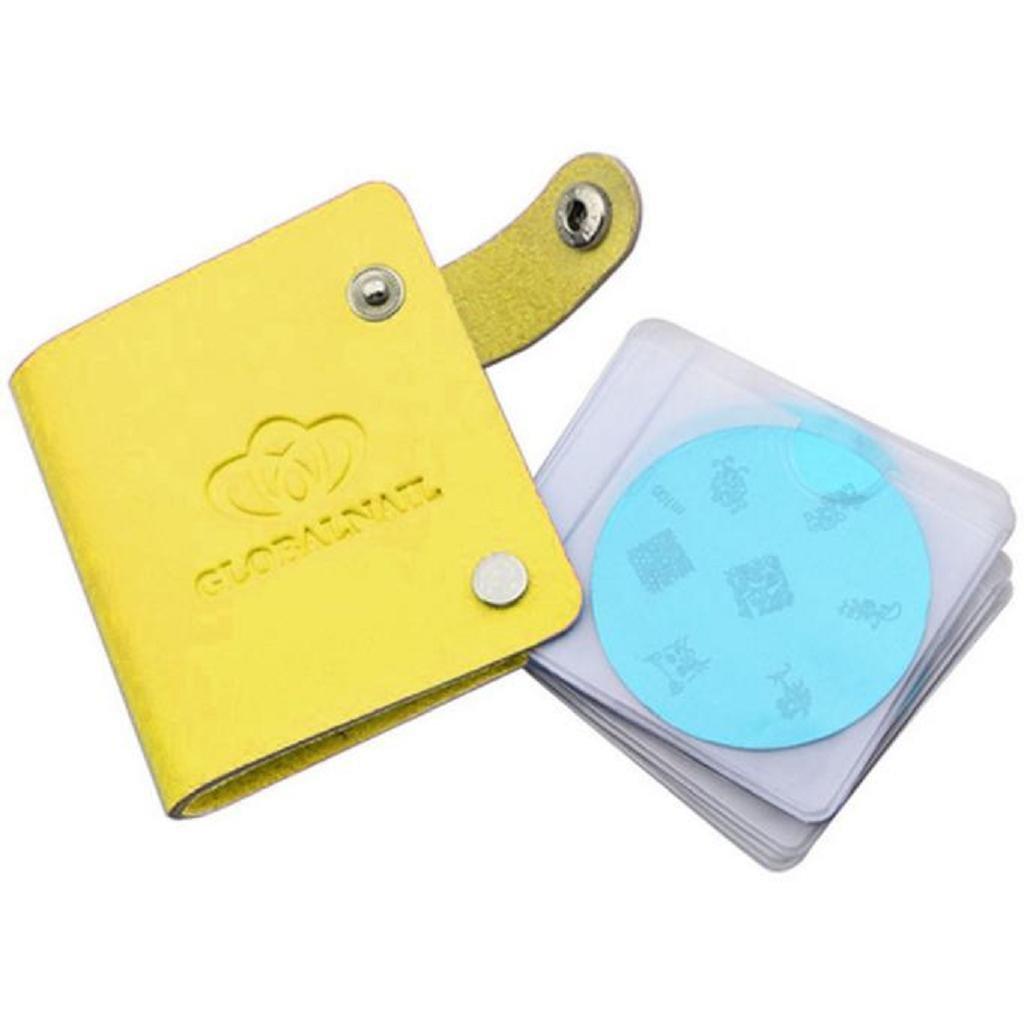 Placas de uñas Fundas - Sannysis Manicura Estampación Placa y Accesorios Organizador (Rosa): Amazon.es: Hogar