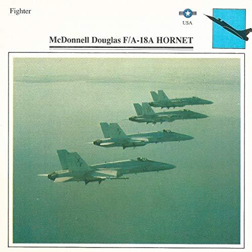 1990 Edito-Service, War Planes Cards, Airplanes, 10.01 FA-18A Hornet