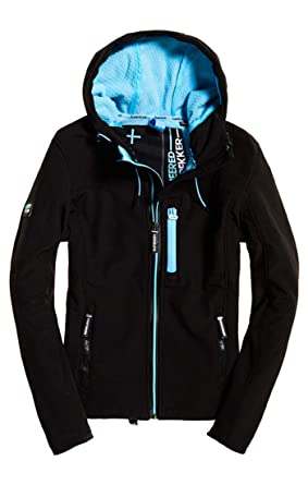 Superdry Damen Summer Hooded Windtrekker Jacke: