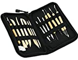 Modeling Tool Kit For Artists,Double Sided Art Tools for Pottery, Clay, Wax ,Fruit Model Sculpting By Garloy(Pack of 14)