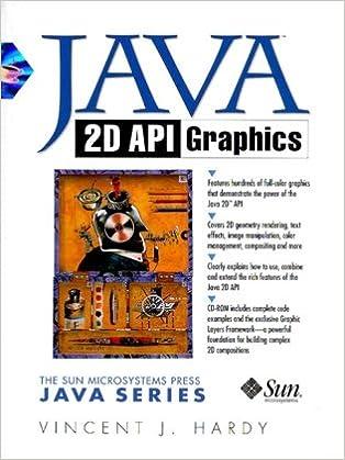 Java 2D API Graphics: Vincent J  Hardy: 0076092005803