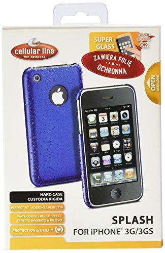 CELLULAR LINE Hartetui Splash für Apple iPhone 3G/3GS blau