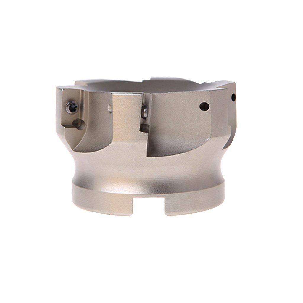 KLOT 10pcs HRC50 Solid Carbide Drill Bit 5.1mm-6mm 2-Flute Stub Straight Shank