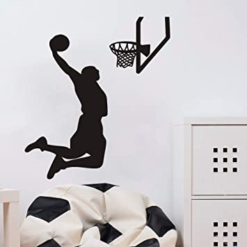 Amazon.com: Home calcomanía Boy habitación deportes jugador ...