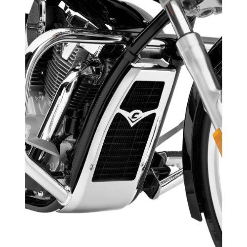 Cobra Radiator Cover for Honda 2004-13 Aero 750 Models - Chrome
