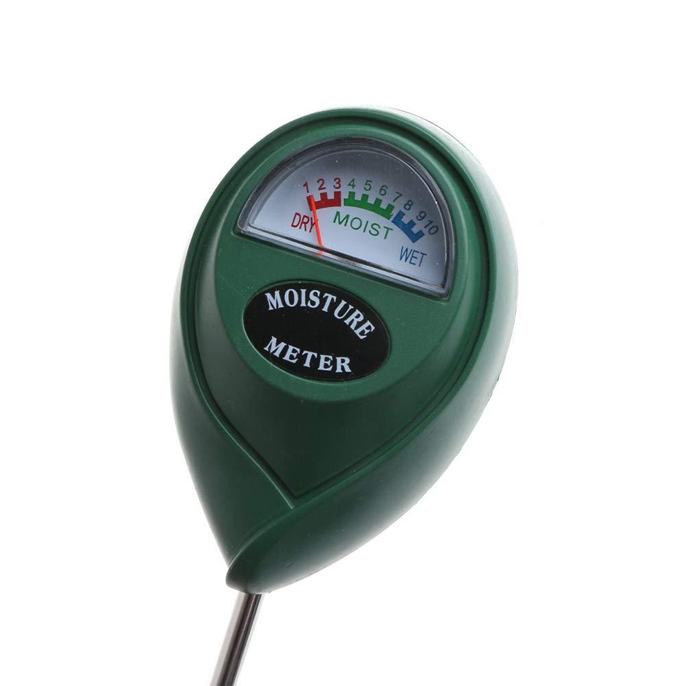 Bodentester Feuchtigkeitstester Blumen pH-Lichtmessung f/ür Pflanzen 3-in-1 Quanjucheer Bodentest-Set Gartenwerkzeug