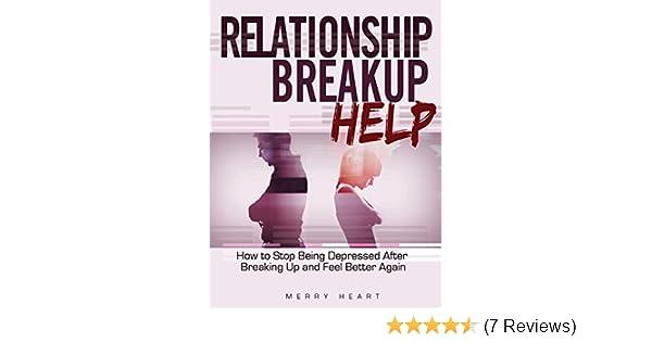 how to get through break up depression