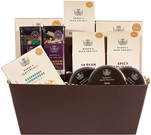 Women's Bean Project Sampler Gourmet Food Gift Basket, 11 Items