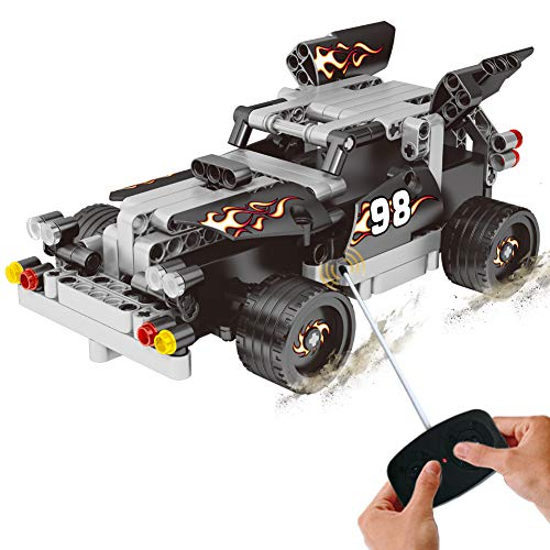 BIRANCO. RC Race Car Toys - Racer Building Blocks Kit for Kids Age 6yr-14yr, STEM Learning, Construction Vehicle Set Toys for 7, 8, 9 and 12 Year Old Boys | Best Xmas Gifts -