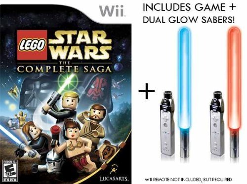 Nintendo Lego Star Wars Complete Sabers