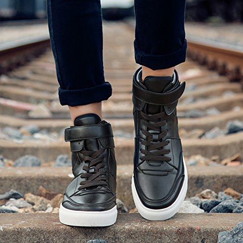 b8d1e59210a Autumn high fashion shoes Mens sports shoes Trend shoes  men s hip hop dance