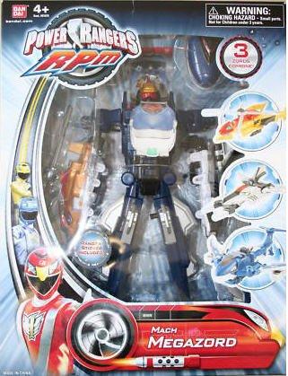 Power Ranger RPM Deluxe Formula Megazord Mach Megazord ()