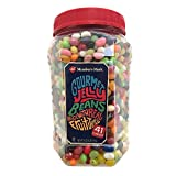 jelly bean jar - MEMBER's MARK GOURMET JELLY BEANS ALL AMERICAN SNACK 41 UNIQUE FLAVORS 4 lb Jar by Daily Chef