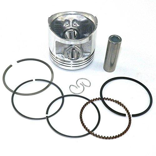 yunshuo Pist/ón Set 56,5/mm anillos Kit para Honda CG 125/XL125/CB125/jx125/motos