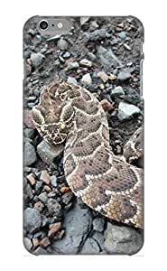 Storydnrmue Durable Defender Case For Iphone 6 Plus Tpu Cover(Animal Puff Adder) Best Gift Choice