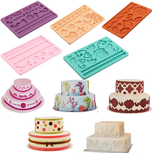 Silicone Alphabet Numbers Chocolate Cookie Biscuit Sugar Mould Cake Mold Decor - 9