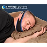 Premium Anti - Snoring Jaw Strap - Stop Snoring Comfortably - Simple and Effective Snoring Solution for Open Mouth Snorers - 90% success rate!