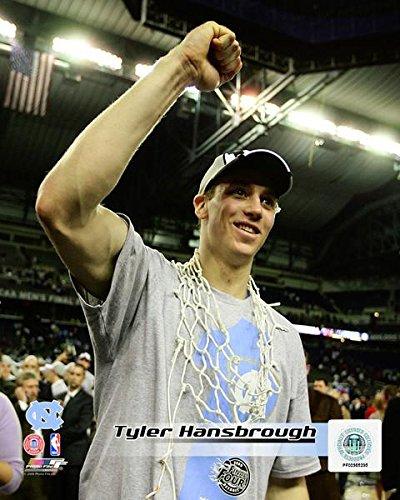 Tyler Hansbrough North Carolina Tar Heels 2009 Celebration Photo (Size: 8