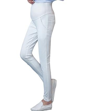 Minetom Leggings de maternité Taille Basse Pantalon de Grossesse Ventre pour  Les Femmes Enceintes et Les 118df30c707