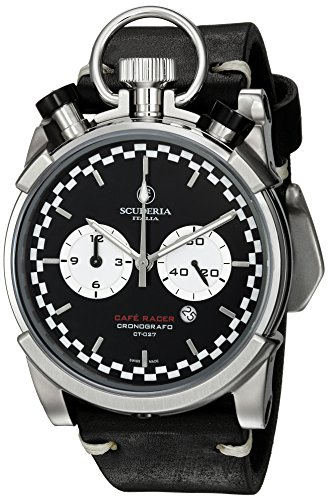 CT-Scuderia-Mens-Corsa-Caf-Racer-Swiss-Quartz-Stainless-Steel-and-Leather-Casual-Watch-ColorBlack-Model-CS20118