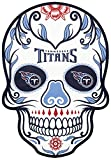 NFL unisex NFL Outdoor Small Dia De Los Muertos Skull Decal